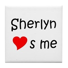 Cool Sherlyn Tile Coaster