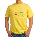 Smarter Than Your Therapist Yellow T-Shirt