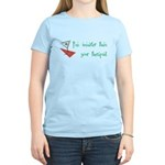 Smarter Than Your Therapist Women's Light T-Shirt