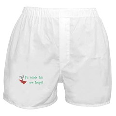 Smarter Than Your Therapist Boxer Shorts