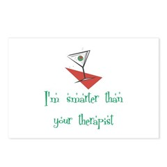 Smarter Than Your Therapist Postcards (Package of