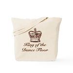 King of the Dance Floor Tote Bag
