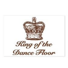 King of the Dance Floor Postcards (Package of 8)