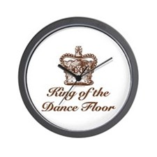 King of the Dance Floor Wall Clock