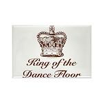 King of the Dance Floor Rectangle Magnet (100 pack