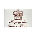 King of the Dance Floor Rectangle Magnet (10 pack)