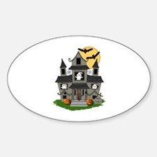 Halloween Haunted House Ghosts Decal