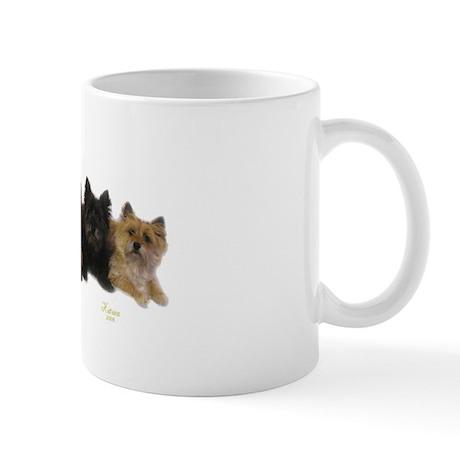 Cairn Terrier Friends Mug
