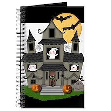 Halloween Haunted House Ghosts Journal
