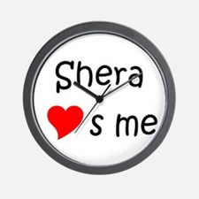 Funny Me to you heart to heart Wall Clock