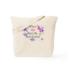 Heart Flutter Gigi Tote Bag