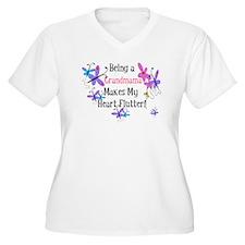 Heart Flutter Grandmama T-Shirt