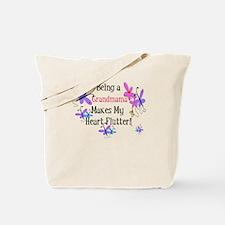 Heart Flutter Grandmama Tote Bag