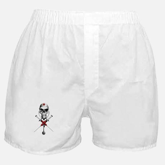 Evil Nurse Skull Boxer Shorts