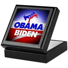 Obama Biden Democrats Keepsake Box
