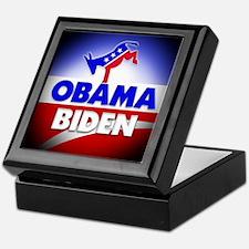 Obama Biden Democrats Keepsake Box
