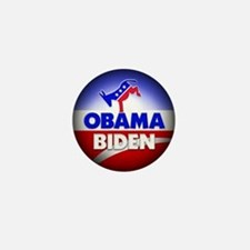 Obama Biden Democrats Mini Button