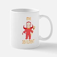 devilment center mug