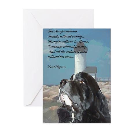 newfoundland_landseer Greeting Cards (Pk of 10)
