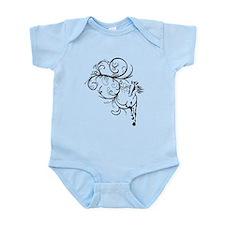 Horse Flourish Infant Bodysuit