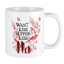 Want Less Vine - Family Pink Mug