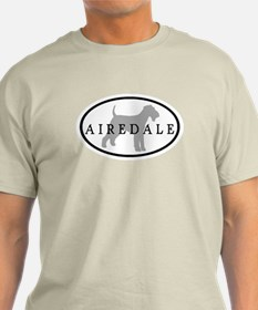 Airedale Terrier Oval #3 T-Shirt