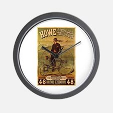 Howe Bikes & Trikes Wall Clock