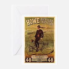 Howe Bikes & Trikes Greeting Card