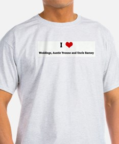 I Love Weddings, Auntie Yvonn T-Shirt