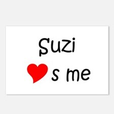 Funny Suzi Postcards (Package of 8)