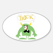 Trick Monster Oval Decal