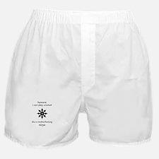 Cricket Ninja Boxer Shorts
