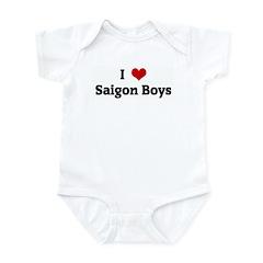 I Love Saigon Boys Infant Bodysuit