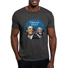 Obama-Biden Blue Logo Small T-Shirt