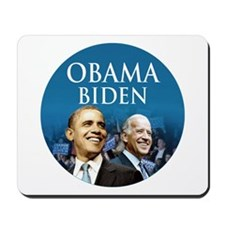 Obama-Biden Blue Large Logo Mousepad