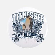 """Save the Penguin Tennessee 3.5"""" Button"""