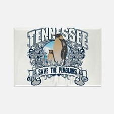 Save the Penguin Tennessee Rectangle Magnet