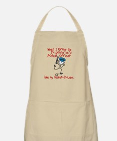 Police Officer Like My Sister-In-Law 1 BBQ Apron