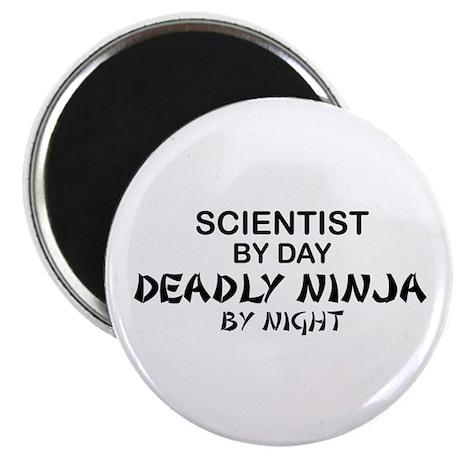 Scientist Deadly Ninja by Night Magnet
