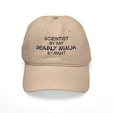 Scientist Deadly Ninja by Night Baseball Cap