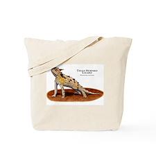 Texas Horned Lizard Tote Bag