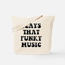 Plays Funky Tote Bag