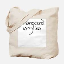 Transcend wrylies Tote Bag