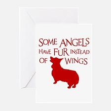 CORGI ANGEL Greeting Cards (Pk of 10)