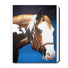 Native Paint Horse Mousepad