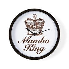 Mambo King Wall Clock