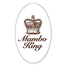 Mambo King Oval Decal