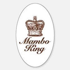 Mambo King Oval Decal