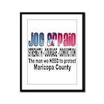 Sheriff Joe Arpaio the man we Framed Panel Print