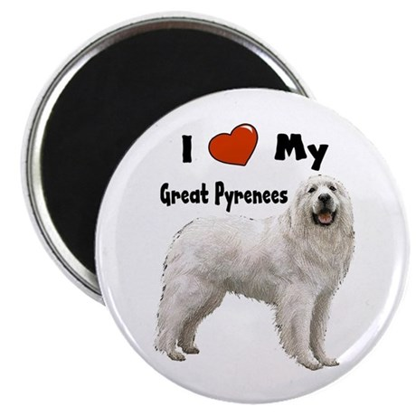 I Love My Great Pyrenees Magnet